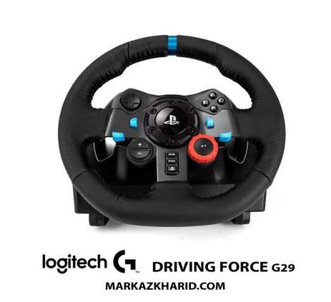 فرمان بازی لاجیتک Playstation logitech DRIVING FORCE G29