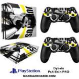 برچسب پلی استیشن 4 پرو Playstation 4 Pro Console and Controller Skin Sticker Dybala