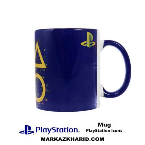 ماگ پلی استیشن PlayStation 4 Game PlayStation Icons Mug