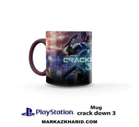 ماگ پلی استیشن PlayStation 4 Game Crackdown 3 Mug