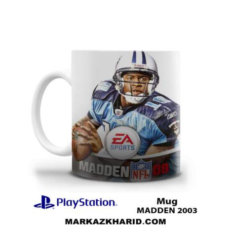 ماگ پلی استیشن PlayStation 4 Game Madden NFL 2003 Mug