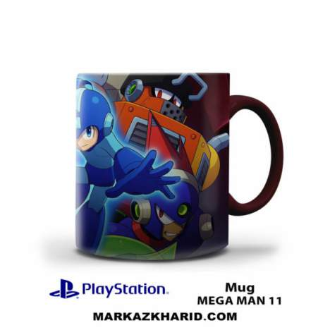 ماگ پلی استیشن PlayStation 4 Game Mega Man 11 Mug