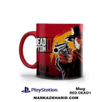 ماگ پلی استیشن PlayStation 4 Game Red Dead Redemption Mug
