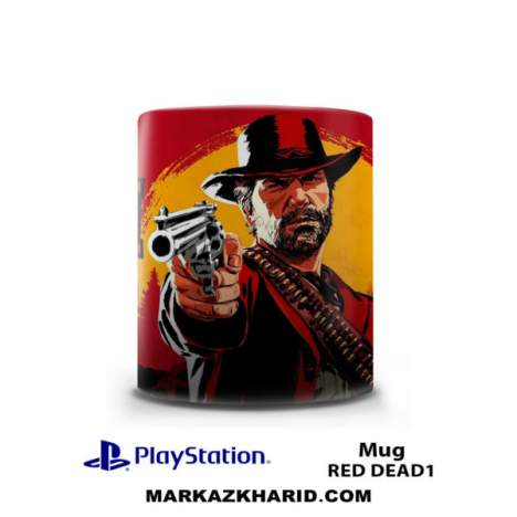 ماگ پلی استیشن PlayStation 4 Game Red Dead Redemption Mug