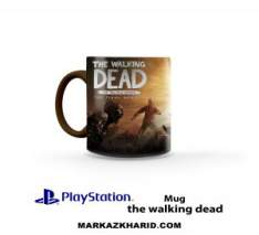 ماگ پلی استیشن PlayStation 4 Game the walking dead Mug