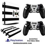 برچسب پلی استیشن 4 اسلیم Playstation 4 Slim Console and Controller Skin Sticker Juventus