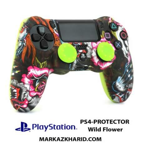 محافظ دسته PlayStation 4 Controller Wildflower Protector