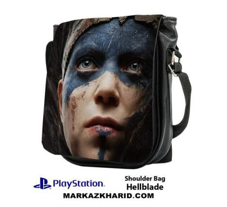کیف رو دوشی Playstation Hellblade shoulder Bag
