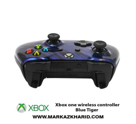 دسته بازی ایکس باکس Xbox one S wireless controller Blue Tiger