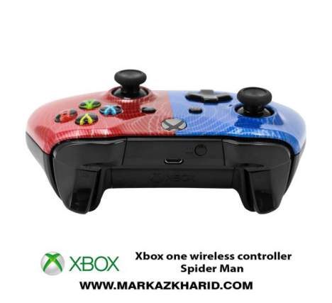 دسته بازی ایکس باکس Xbox one s wireless controller spiderman