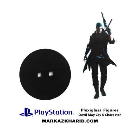 استند شیشه ای پلی استیشن PlayStation PlexiGlass Devil May Cry 5 Character
