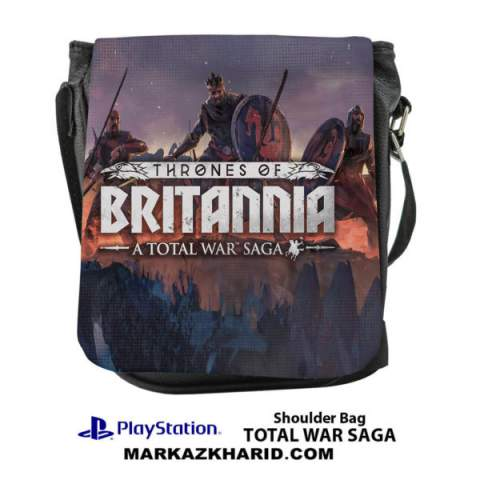 کیف رو دوشی Playstation Total War Saga shoulder Bag