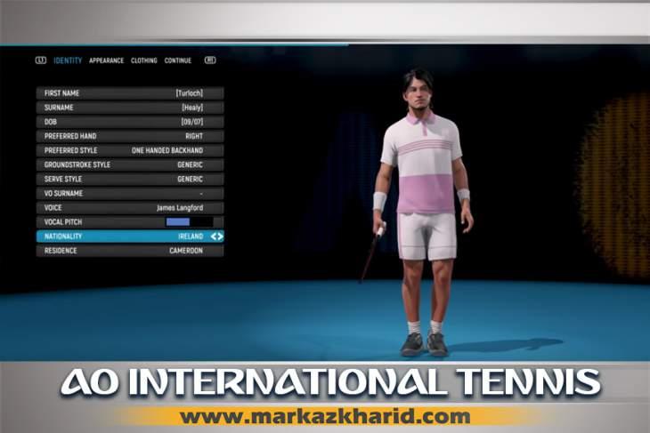 جزئیات و بررسی معرفی بازی AO International Tennis PS4 برای کنسول های نسل هشتم