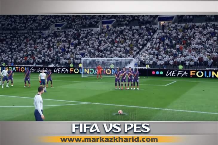 جزئیات و بررسی محبوبیت بازی های FIFA PS4 یا PES در ایران