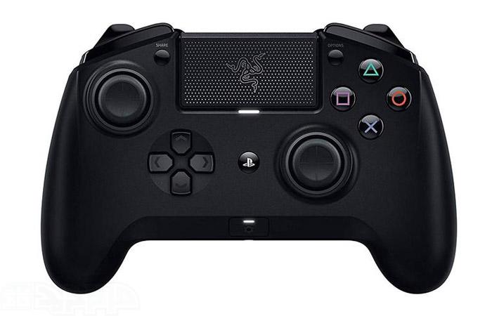 دسته بازی پلی استیشن 4 مدل Razer Raiju Wireless Tournament Edition Controller
