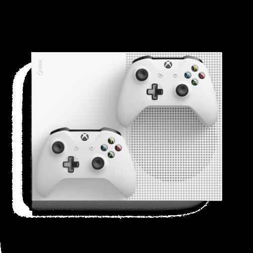 کنسول ایکس باکس وان اس 1 ترابایت سفید مدل Xbox One S TwoController Bundle