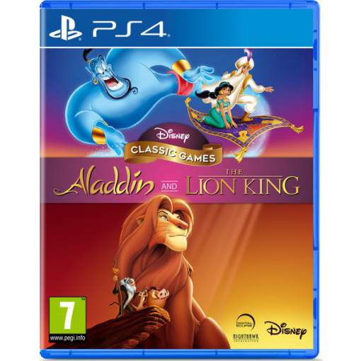 بازی Disney Classic Games Aladdin And The Lion King پلی استیشن 4