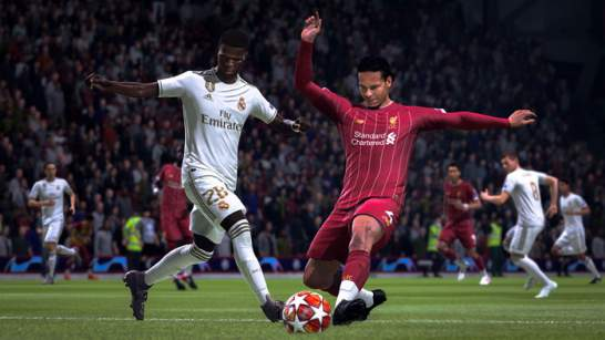 بازی fifa 20 پلی استیشن 4