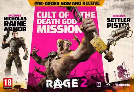 بازی Rage 2 پلی استیشن 4