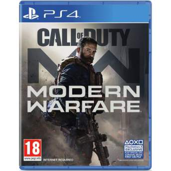 بازی call of duty modern warfare پلی استیشن 4