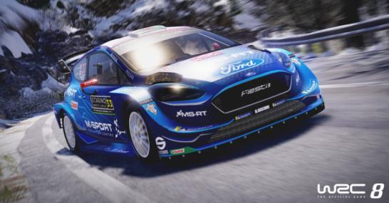 بازی WRC 8 FIA World Rally Championship پلی استیشن 4