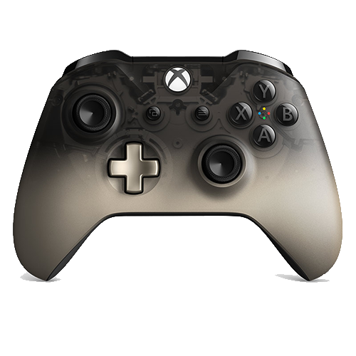 دسته ایکس‌باکس وان مدل Wireless Controller – Phantom Black Special Edition