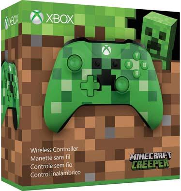 دسته ایکسباکس مدل Wireless Controller – Minecraft Creeper