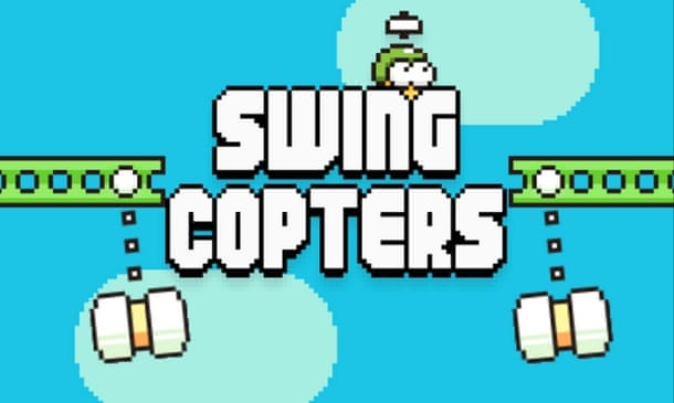 بازی swing copters 2