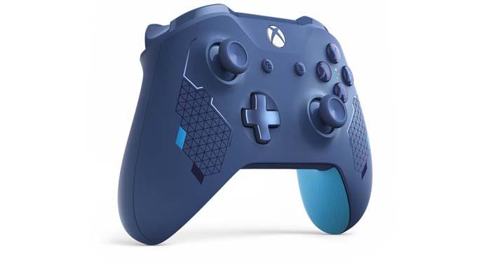 دسته ایکسباکس مدل Wireless Controller – Sport Blue Special Edition