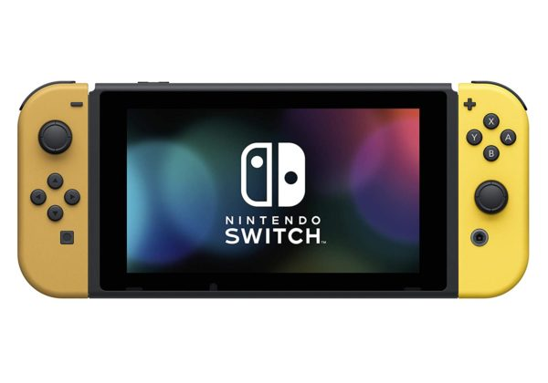 Nintendo Switch Console Bundle- Pikachu & Eevee Edition with Pokemon