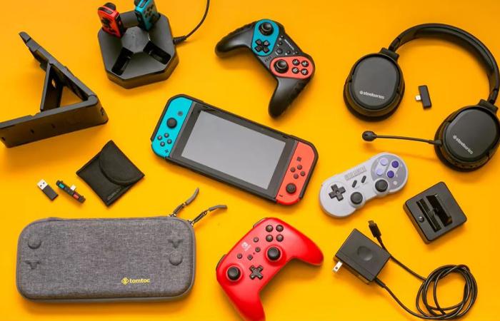 لوازم جانبی Nintendo Switch