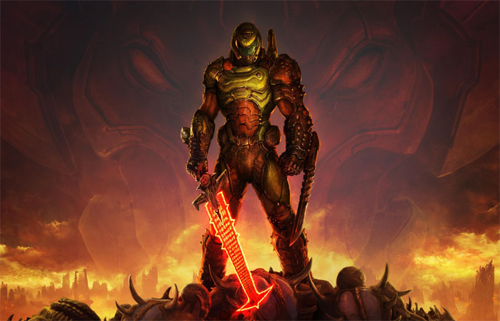 ماد سوم شخص بازی Doom Eternal