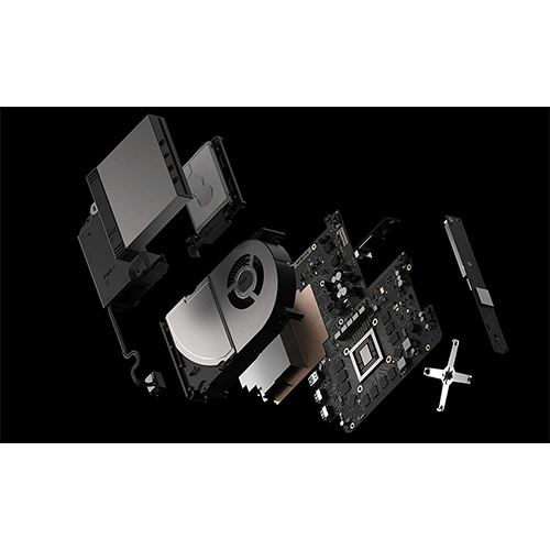 Xbox One X 1Tb with games
