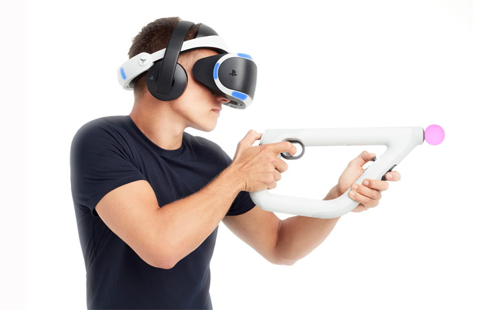 تفنگ واقعیت مجازی سونی