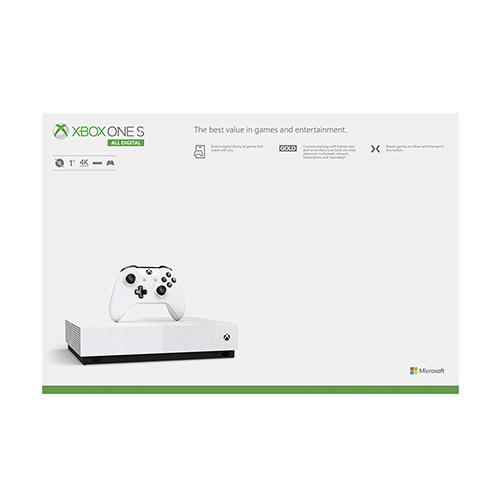 کنسول ایکس باکس وان اس دیجیتال 1 ترابایت سفید به همراه بازی