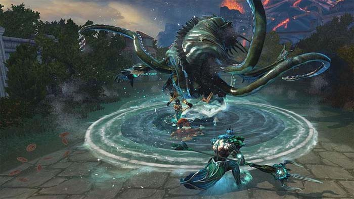 بازیهای رایگان Xbox One بازی Smite
