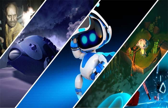 بازی های واقعیت مجازی پلی استیشن