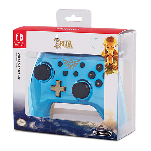 Wired Controller for Nintendo Switch Chrome Zelda