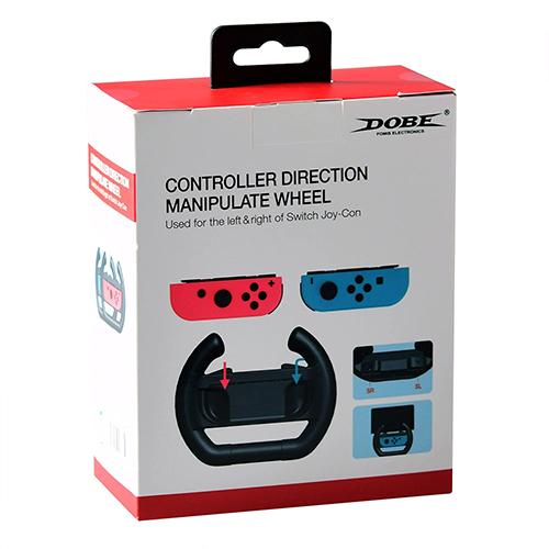 فرمان مخصوص نینتندو سوئیچ DOBE controller wheel for switch
