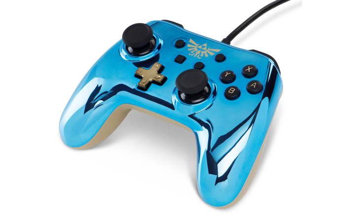 کنترلر نینتندو سویچ مدل Chrome Zelda