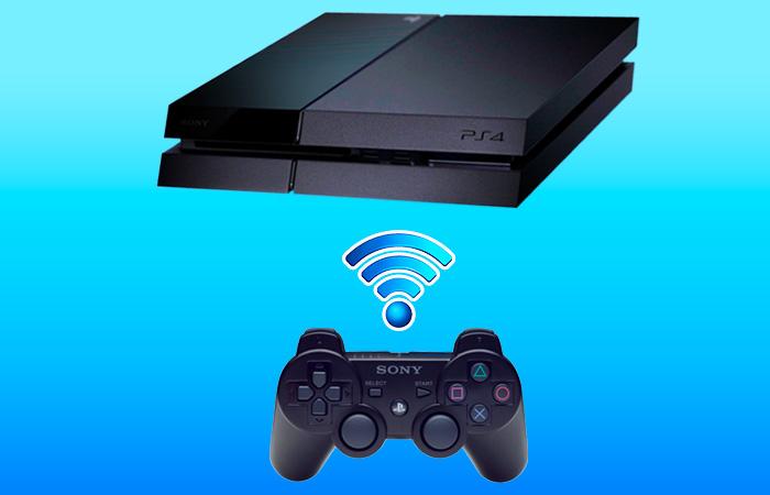 آموزش اتصال دسته PS3 به PS4