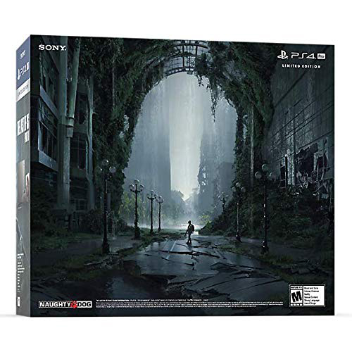 PlayStation 4 Pro 1TB Limited Edition The Last of Us Part 2 Console Bundle