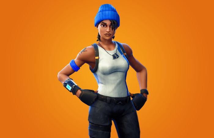 اسکین Blue Striker and Blue Team Leader Playstation Plus فورتنایت