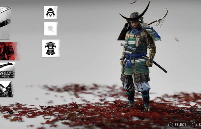 بهترین زره Ghost of Tsushima