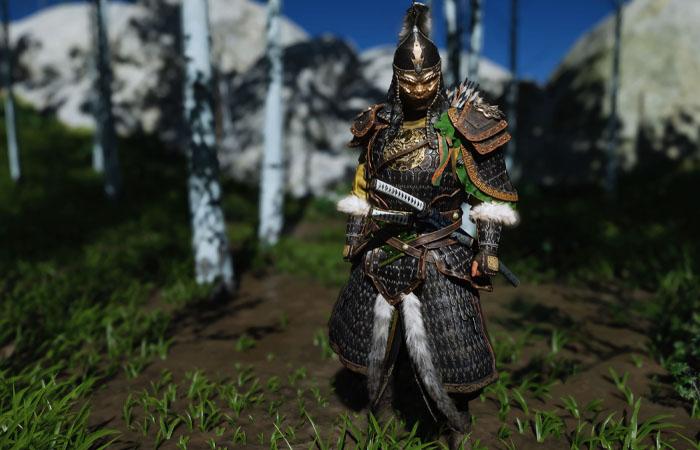 زره Mongol Commander