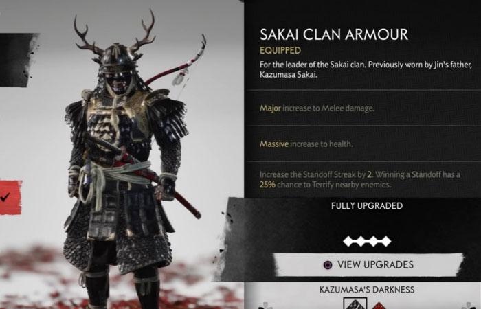 زره Sakai Clan Armor