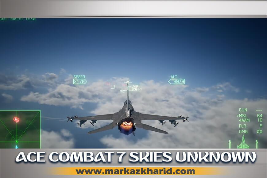 جزئیات و بررسی نمایش دادن برخی صحنه های سینمایی بازی Ace Combat 7 Skies Unknown PS4 در تریلر بازی