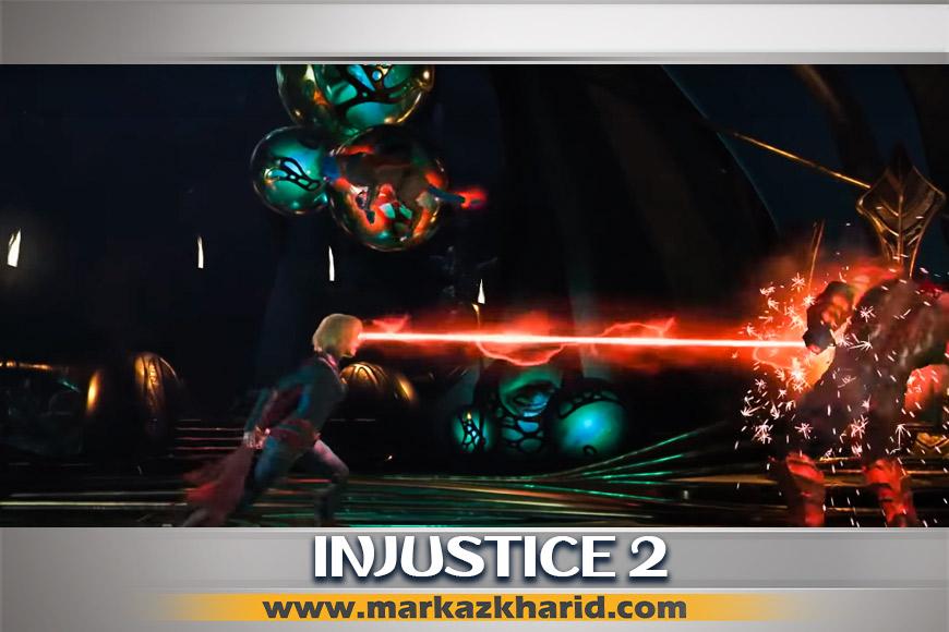 جزئیات و بررسی کاراکتر فایر استورم بازی Injustice 2 PS4