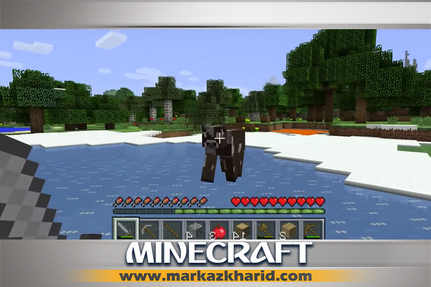 جزئیات و بررسی آپدیت جدید Aquatic بازی Minecraft PS4 کمپانی Mojang