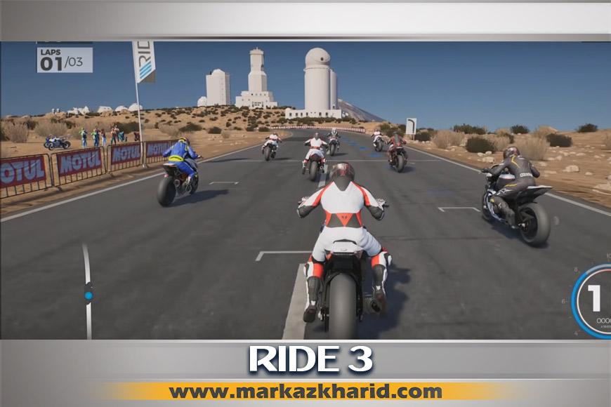 جزئیات و بررسی بازی Ride3 PS4